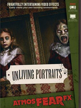 UnLiving Portraits Horror DVD