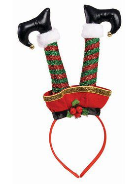 Upside Down Elf Headband Accessory