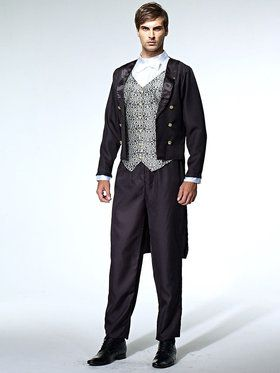 Uptown Gentleman Men's Costume