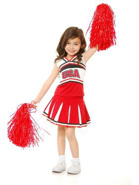 Girl's USA Cheer Costume
