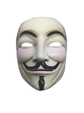 V for Vendetta Mask w/ Collector's Box Adult