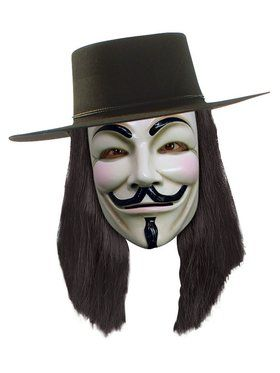 V For Vendetta Wig (adult)