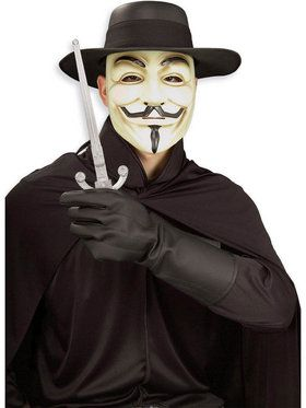 V for Vendetta Costume Set