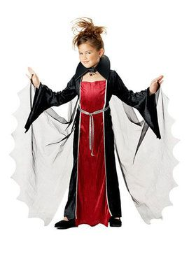 Vampire Girl Child's Costume