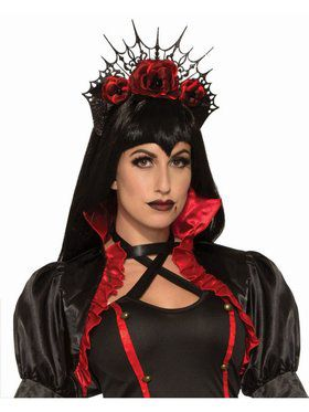 Vampire Adult Rose Headband