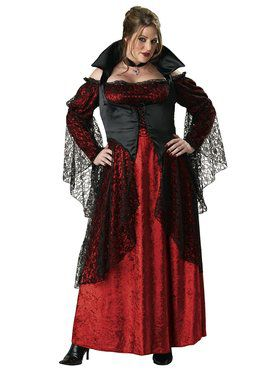 Vampiress Adult Plus Costume