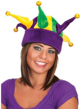 Velvet Light Up Plush Jester Hat