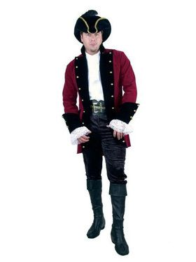 Plus Men's Velvet Pirate Jacket