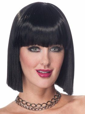 Vibe (Black) Wig For Adults