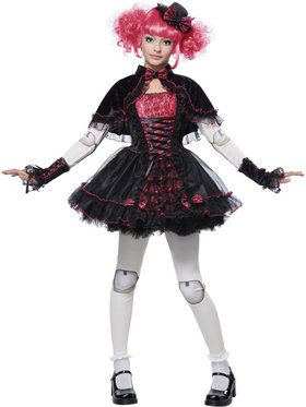 Victorian Doll Girl's Costume