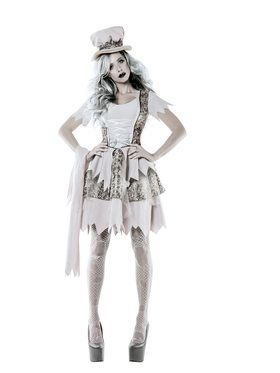 Victorian Ghost Lady Adult Costume for Halloween