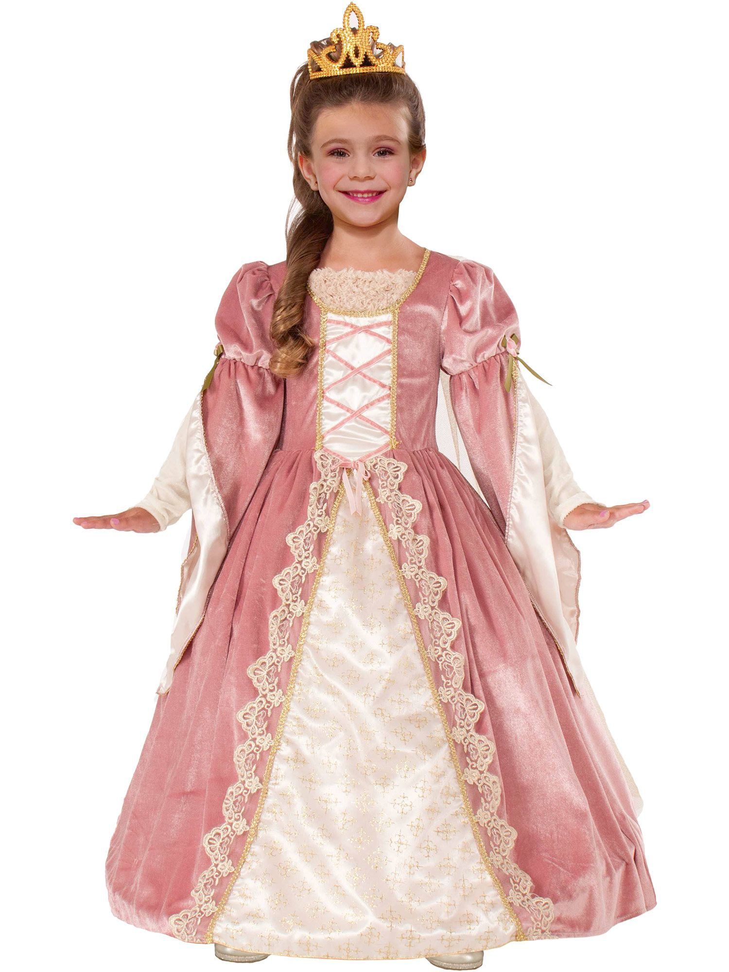 Victorian Rose Girlu0027s Costume  sc 1 st  Wholesale Halloween Costumes & Girlu0027s Victorian Rose Costume - Renaissance Girls Costumes
