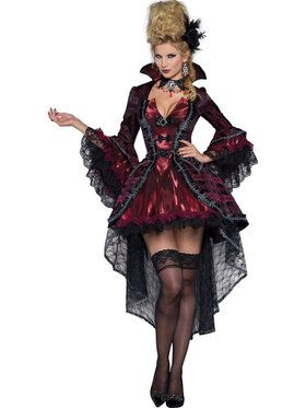 Victorian Vamp Costume For Adults