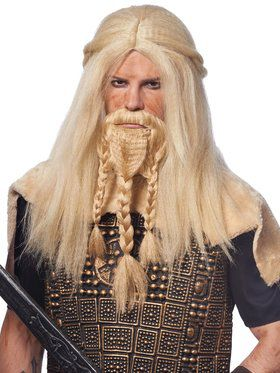 Viking Beard and Men's Wig