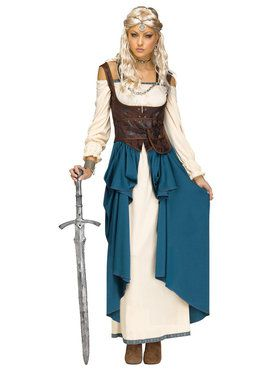 Viking Queen Costume For Adults