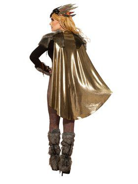 Valkyrie Cape and Shoulder Pads Costume