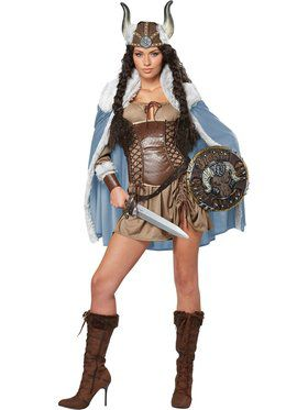 Viking Vixen Women's Costume