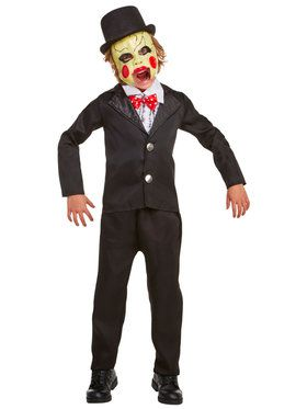 Villainous Ventriloquist Child Costume