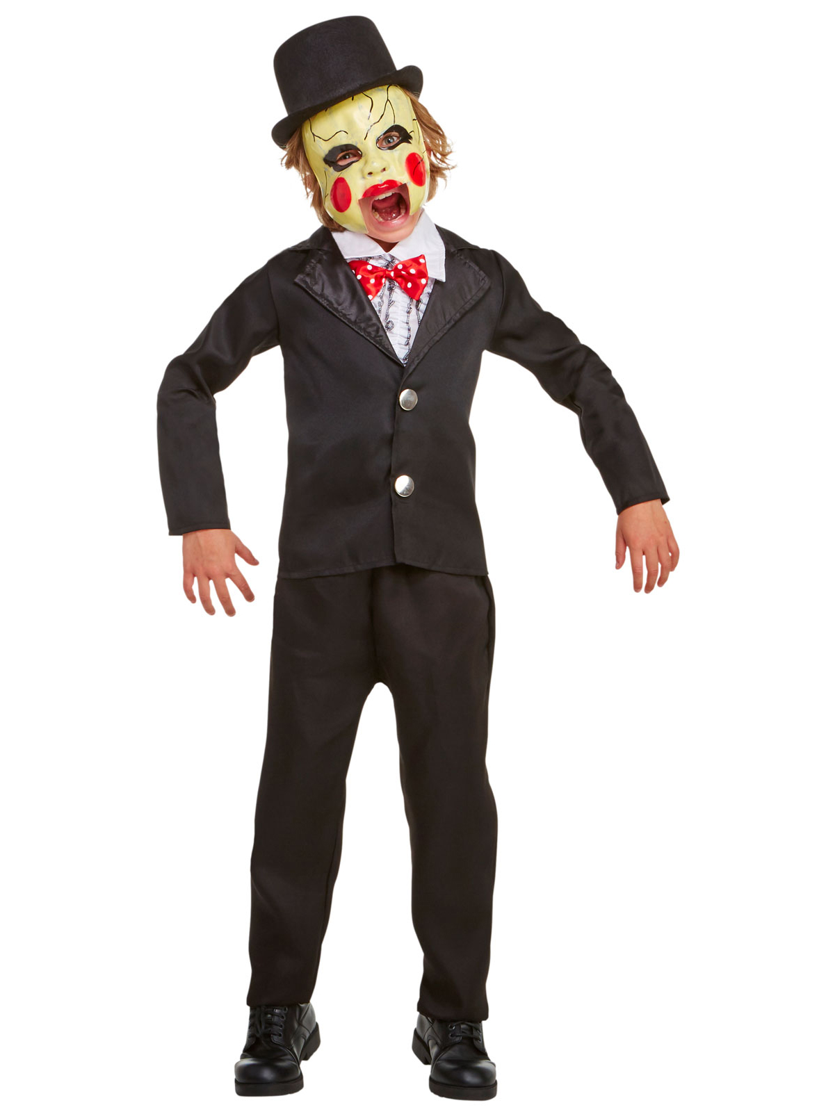 Villainous Ventriloquist Child Costume 248599