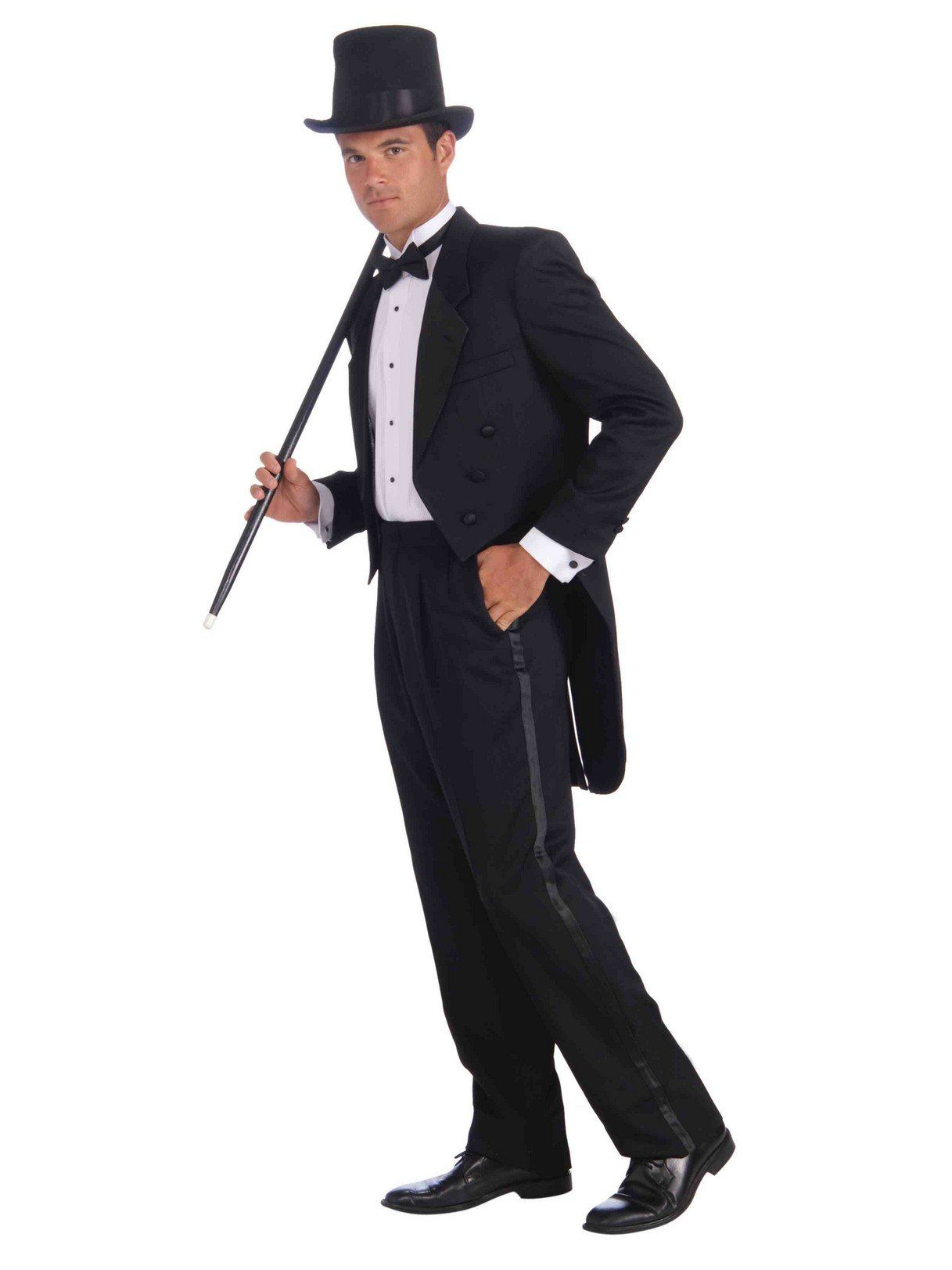 Vintage Hollywood Plus Tuxedo Mens Costume