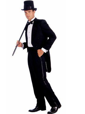 Vintage Hollywood Tuxedo Men's Costume