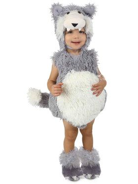 Vintage Wolf Costume For Toddlers