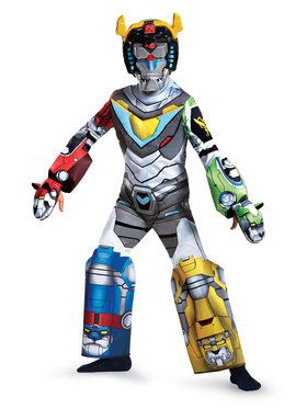 Voltron Deluxe Child Costume