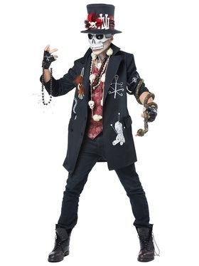 Voodoo Dude Men's Costume
