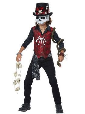 Voodoo Hex Boy Child Costume