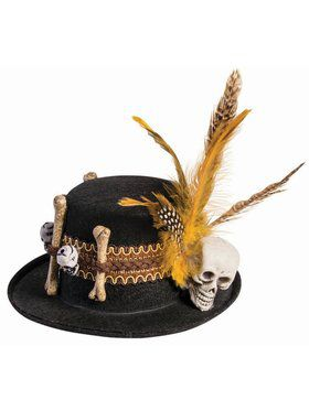 Adult Voodoo Mini Hat Accessory