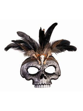 Voodoo Skull Mask Adult Male