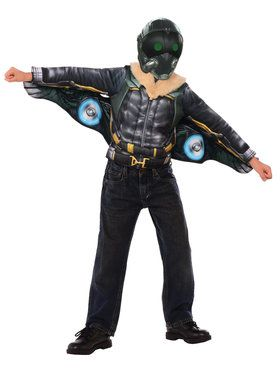 Vulture Deluxe Costume Top Set for Halloween