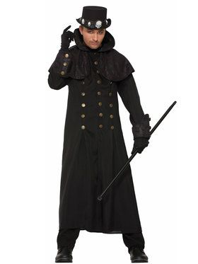 Adult Warlock Coat Costume