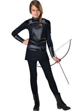Warrior Huntress Girl's Costume