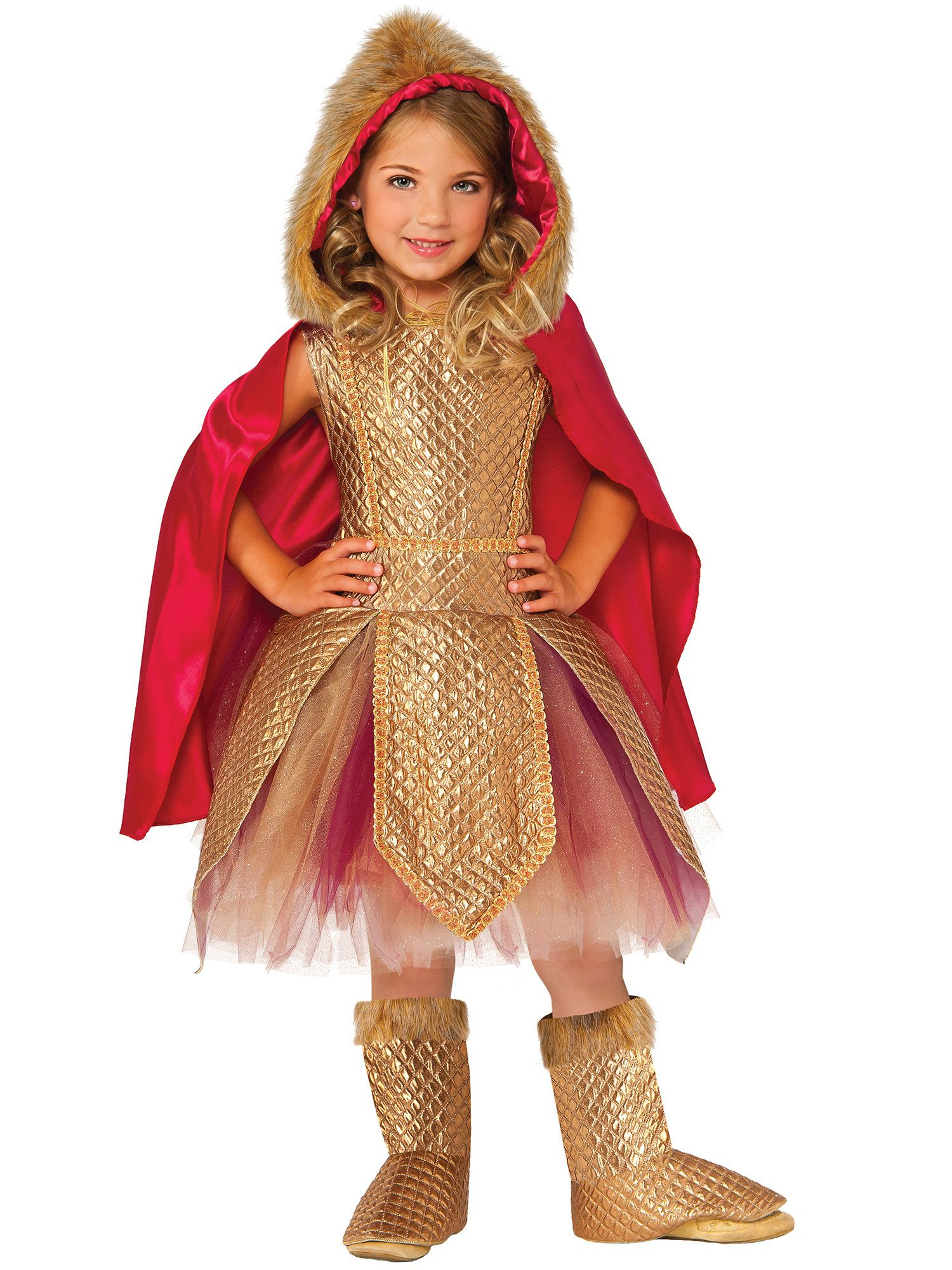 Warrior Princess Costume For Girls  sc 1 st  Wholesale Halloween Costumes & Kids Warrior Princess Costume | Medieval Renaissance Costumes at ...