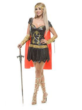 Women's Warrior Queen Costume