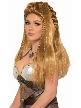 Female Blonde Warrior Wig