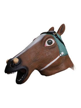 Water Horse Head Mask with Goggles