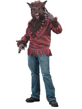 Werewolf Adult Medium Large Costume