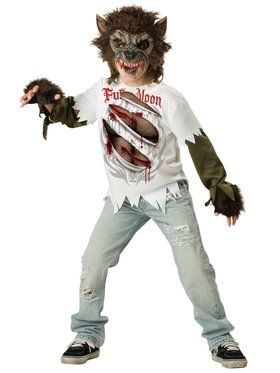 Werewolf Child Small Costume