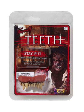 Werewolf Teeth Costume Accessories