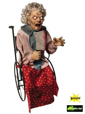 Wheelchair Granny Moving Prop