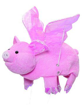 When Pigs Fly Plush Hat