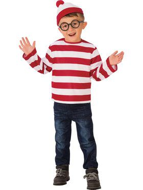 Where's Waldo Costume for Children