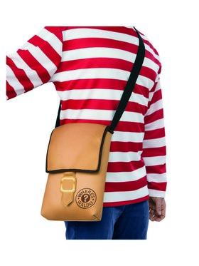 Where's Waldo Brown Messenger Pack