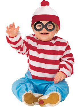 Where's Waldo Costume for Toddlers