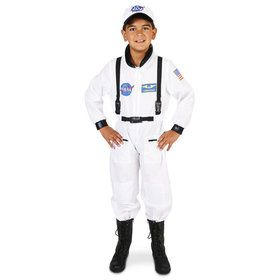 White Astronaut Costume For Children