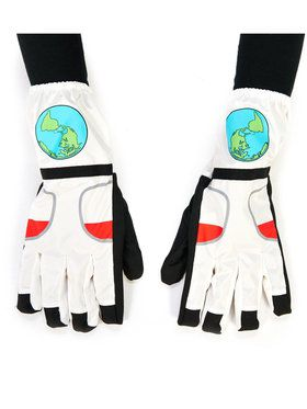 White Astronaut Gloves For Children