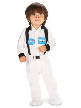 White Astronaut Costume For Babies