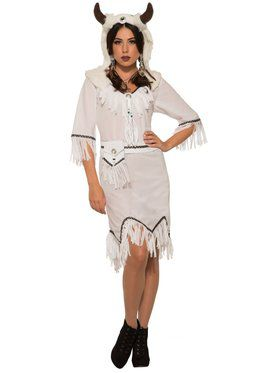 Womens Spirit Buffalo Costume